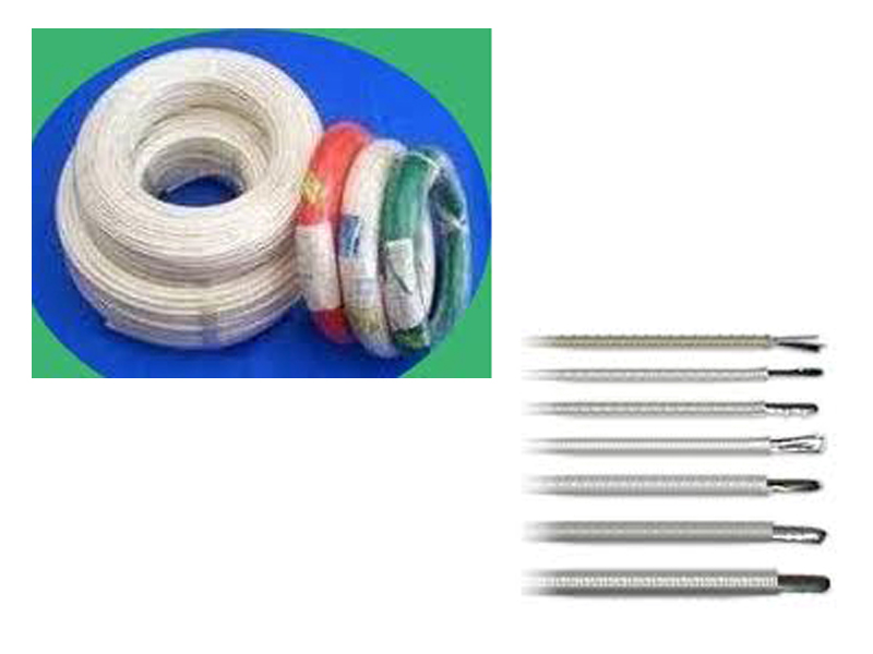 สายไฟทนความร้อนหุ้มไฟเบอร์กลาส (Fiber glass cable)